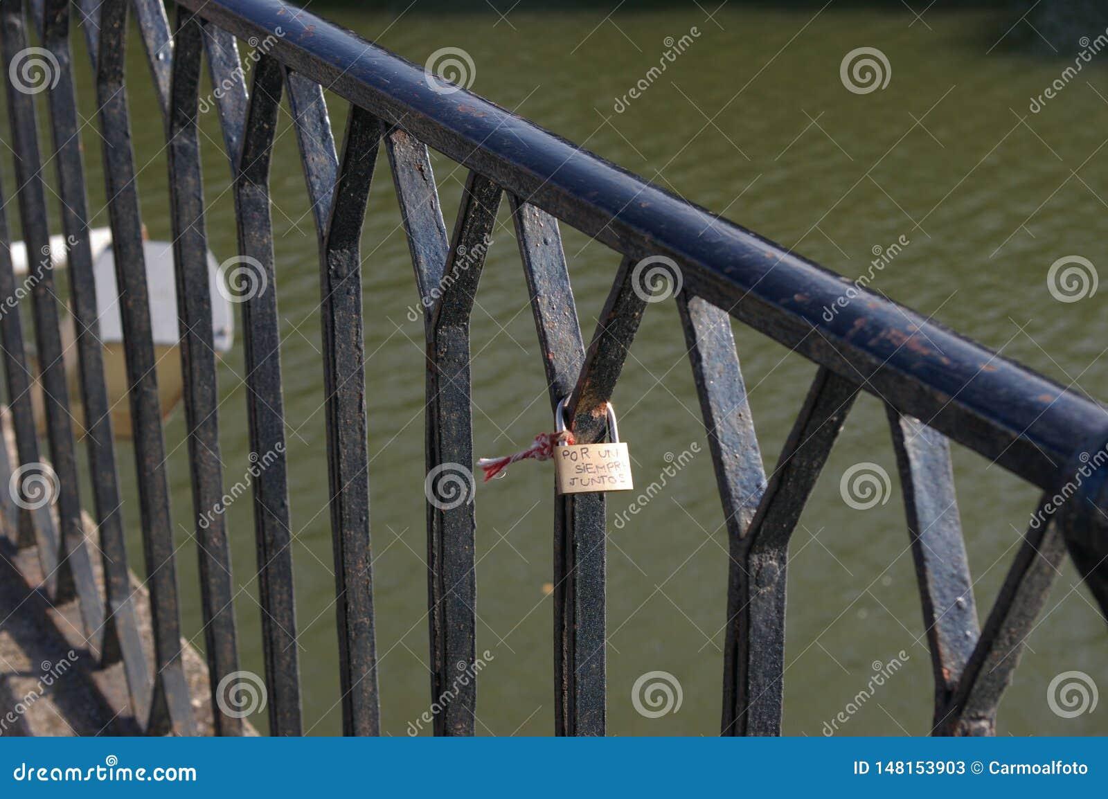 Ponte do amor em Logroño