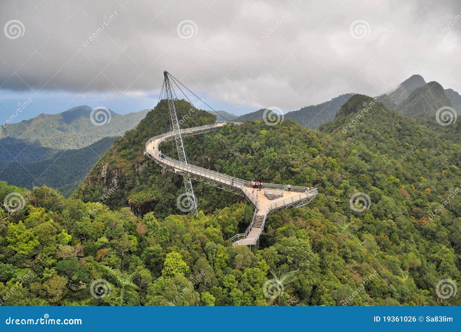Ponte do céu de Langkawi