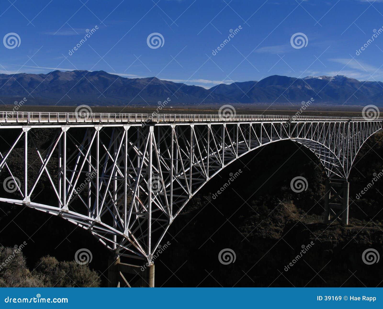 Ponte do desfiladeiro de Rio Grande