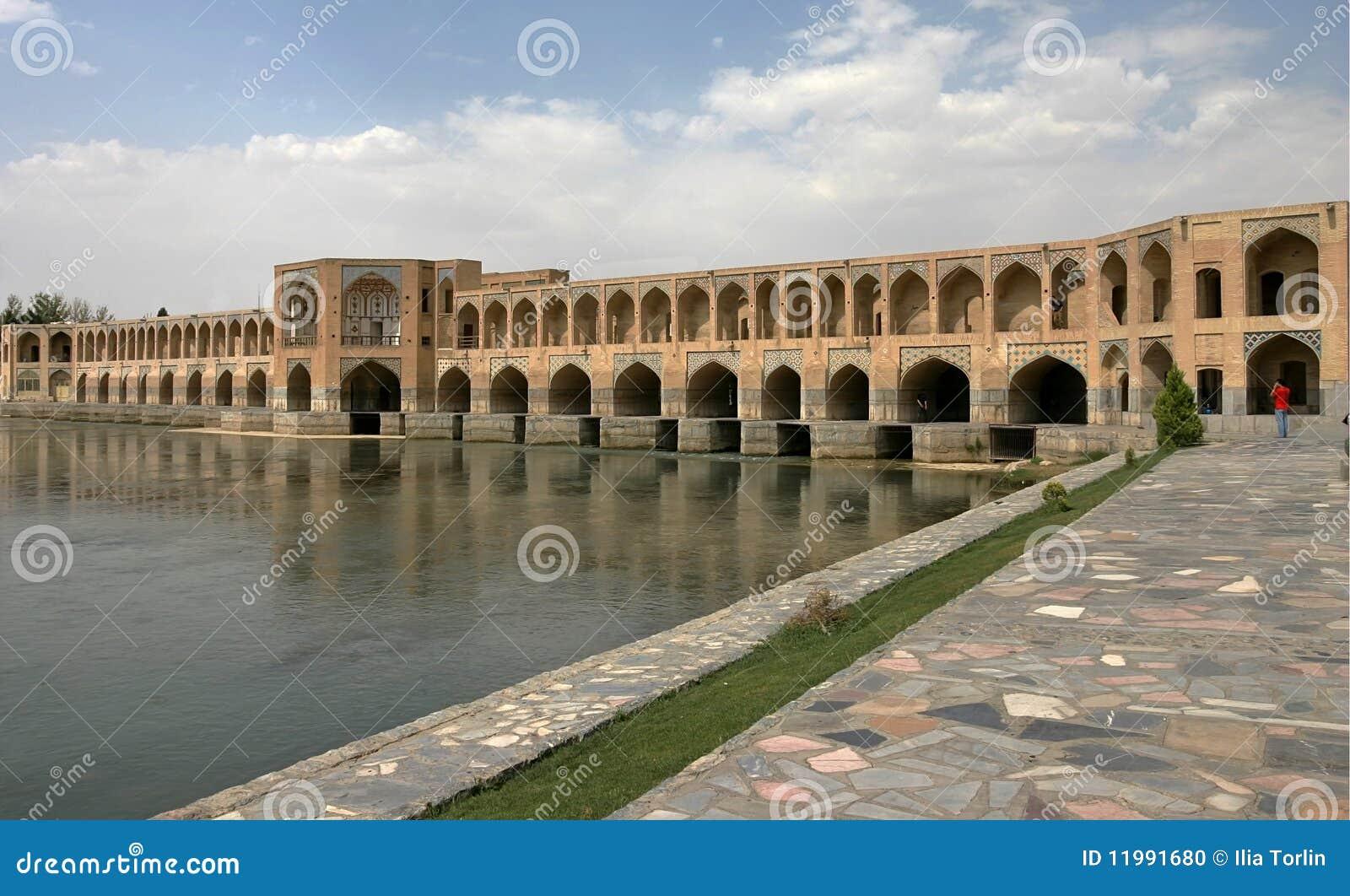 Ponte em Esfahan. Irã
