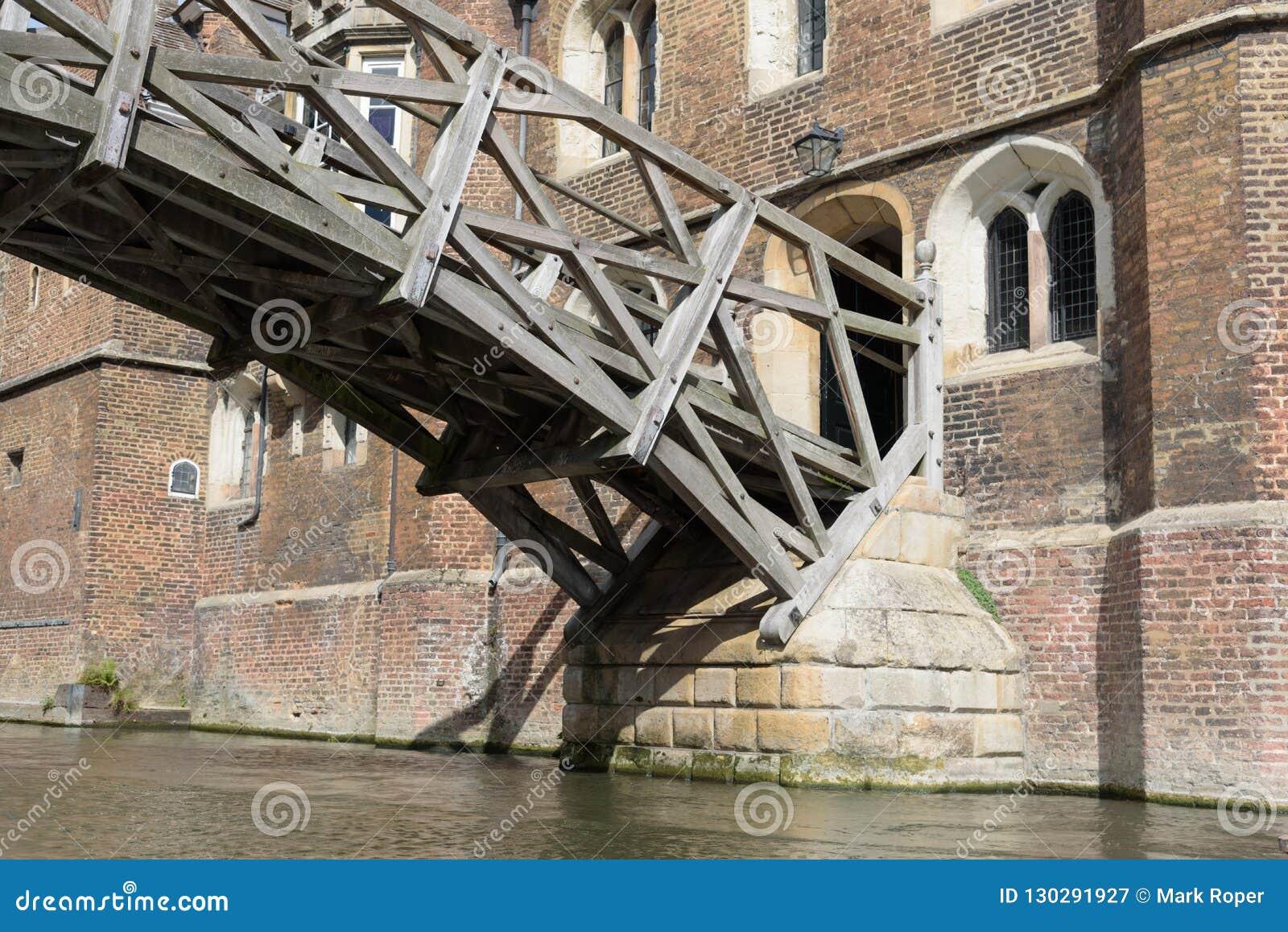 Ponte matematico all istituto universitario delle regine, Cambridge, Inghilterra