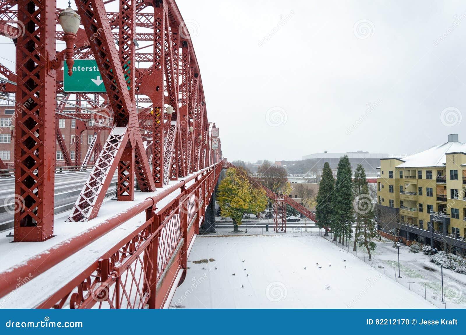 Ponte nevado de Broadway