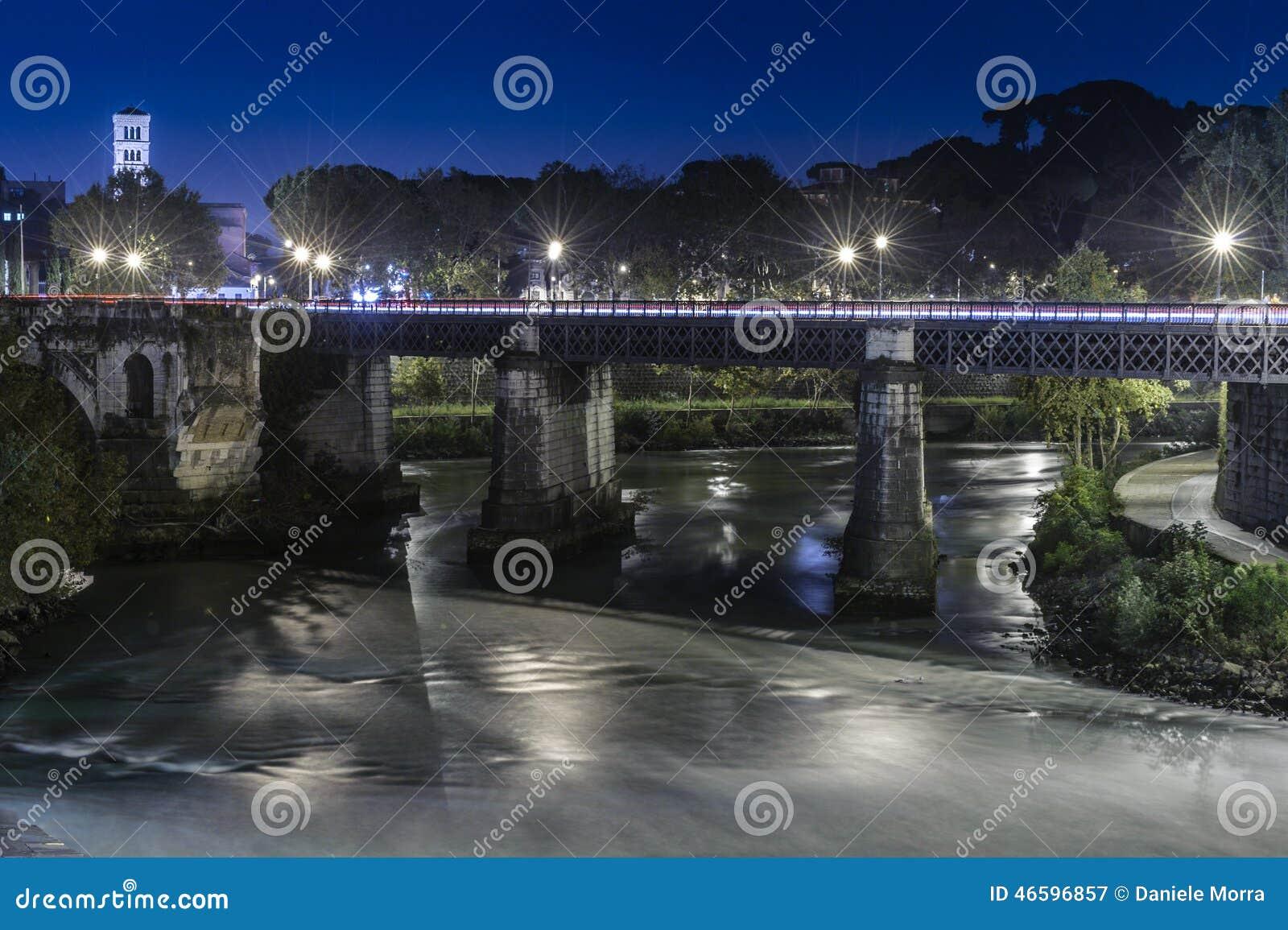 Ponte Palatino in Rom