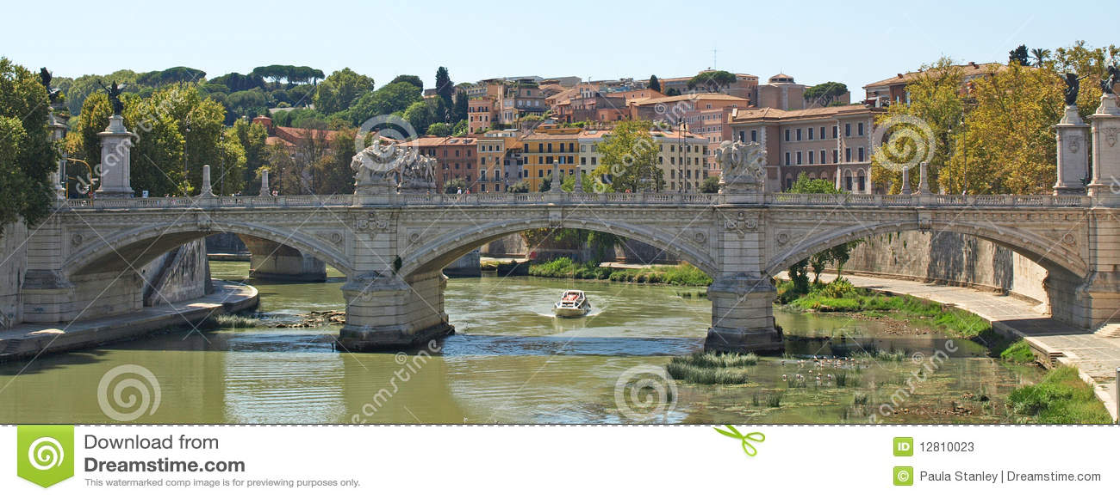 Ponte sobre o Tiber