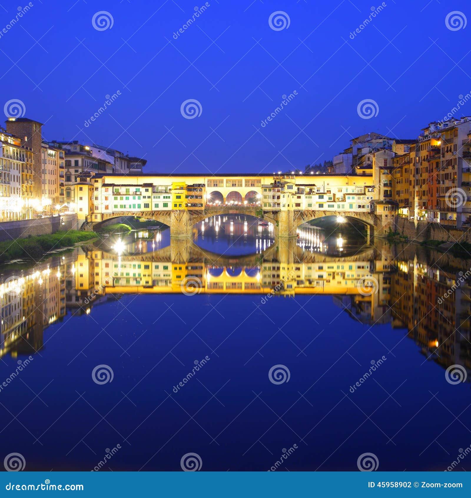 Ponte Vecchio Stock Photo - Image: 45958902