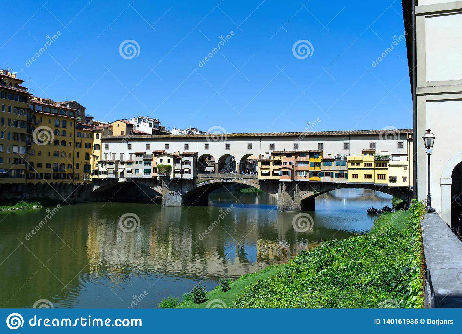 Ponte Vecchio a Firenze, Toscana, Italia