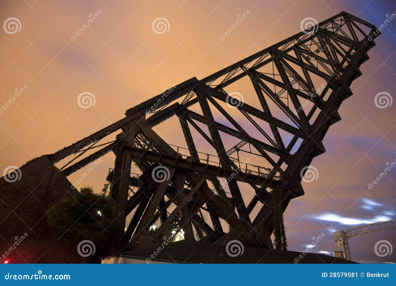 Ponte velha em Cleveland