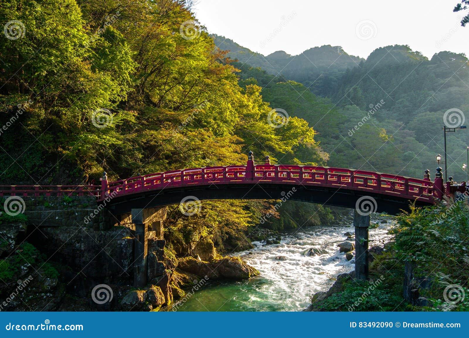 Ponte vermelha, Nikko