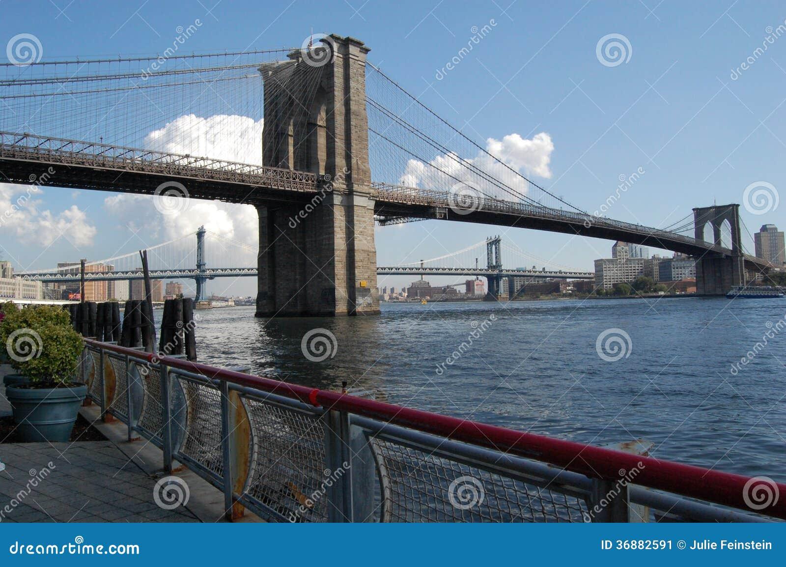 Download Ponti di New York immagine stock. Immagine di orientale - 36882591