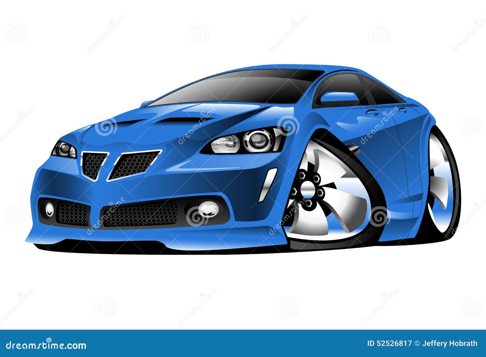 Pontiac G8 kreskówki ilustracja
