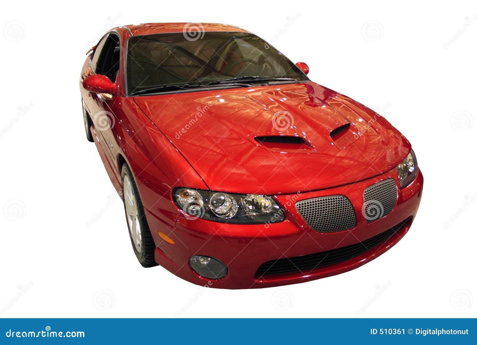 Pontiac GTO d isolement au-dessus du blanc
