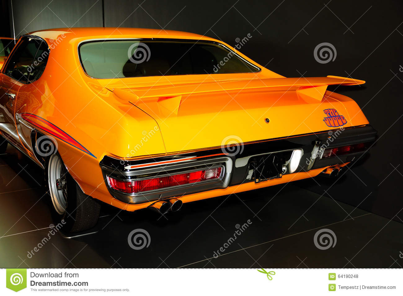 Pontiac GTO The Judge Classic Car Editorial Stock Photo - Image ...