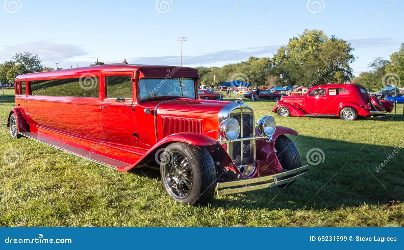 1930 Pontiac Hot Rod Limousine Editorial Stock Image ...