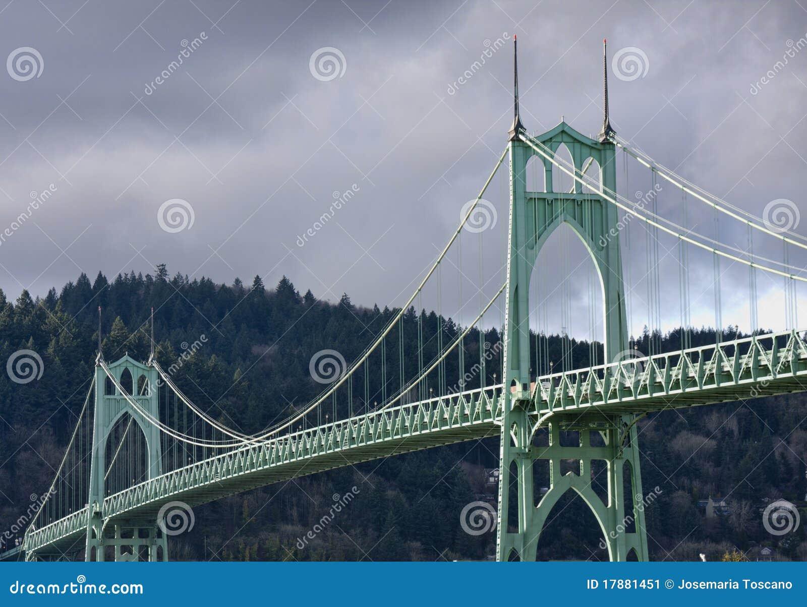 Ponticello della st John a Portland Oregon, S.U.A.