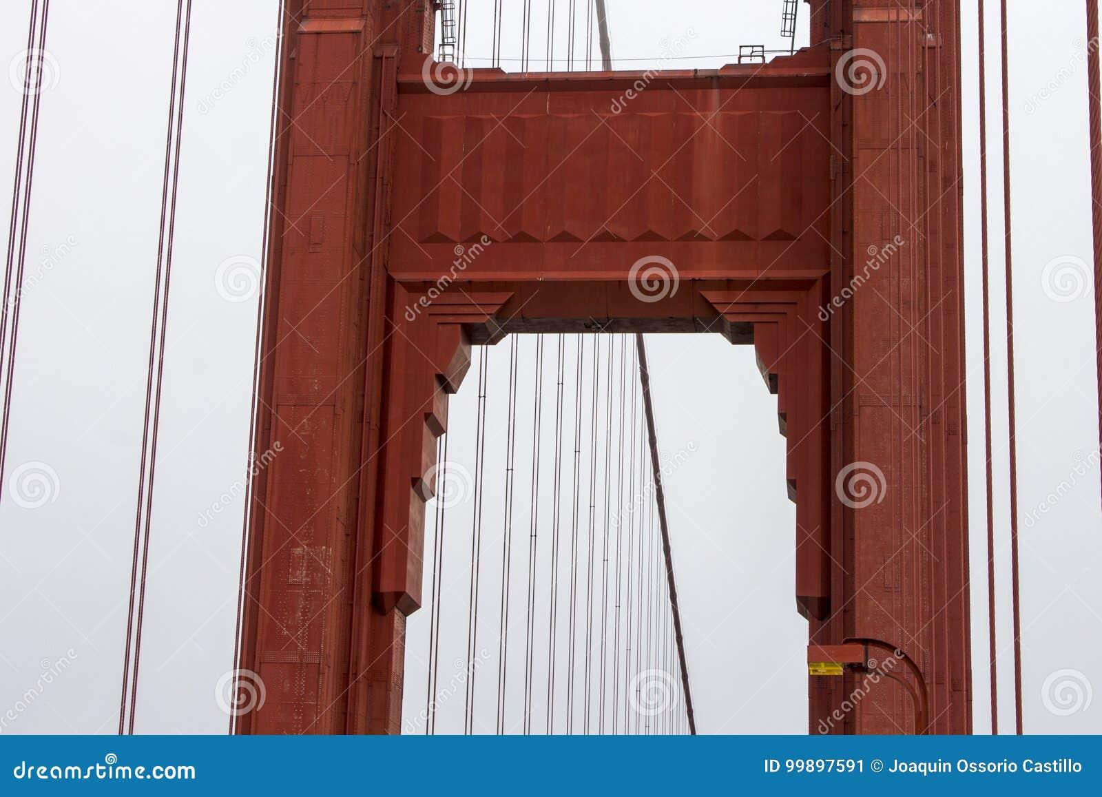 Ponticello di cancello dorato, San Francisco, California