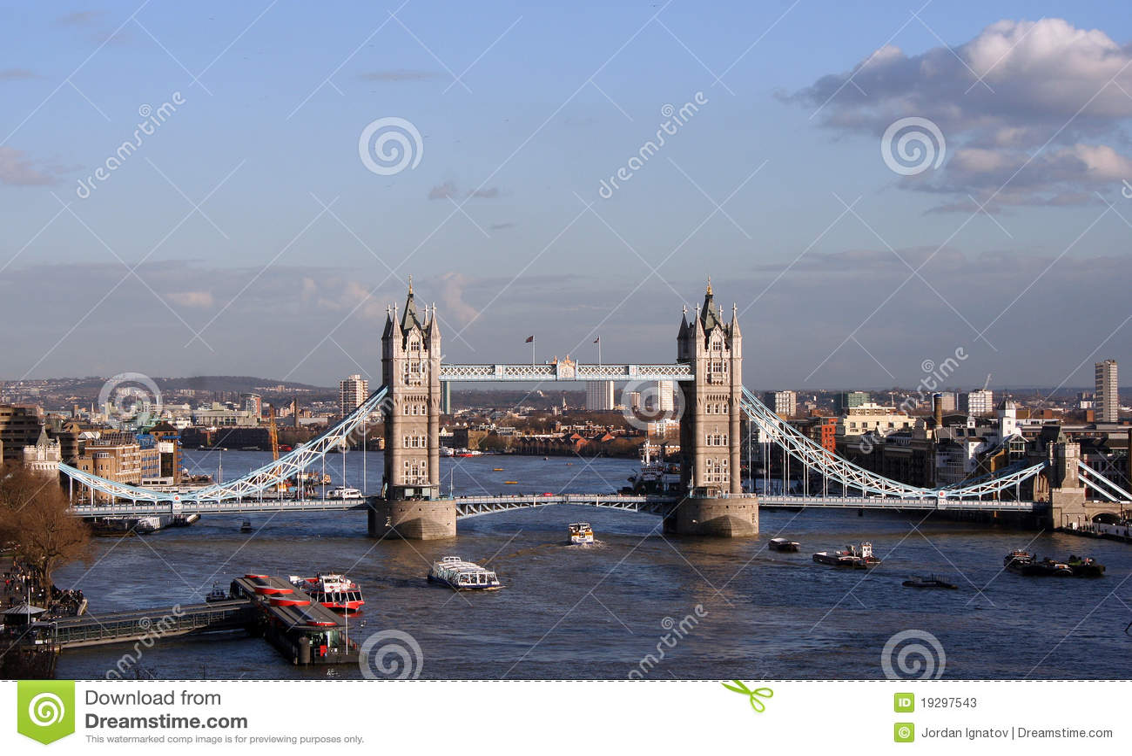 Ponticello Londra della torretta