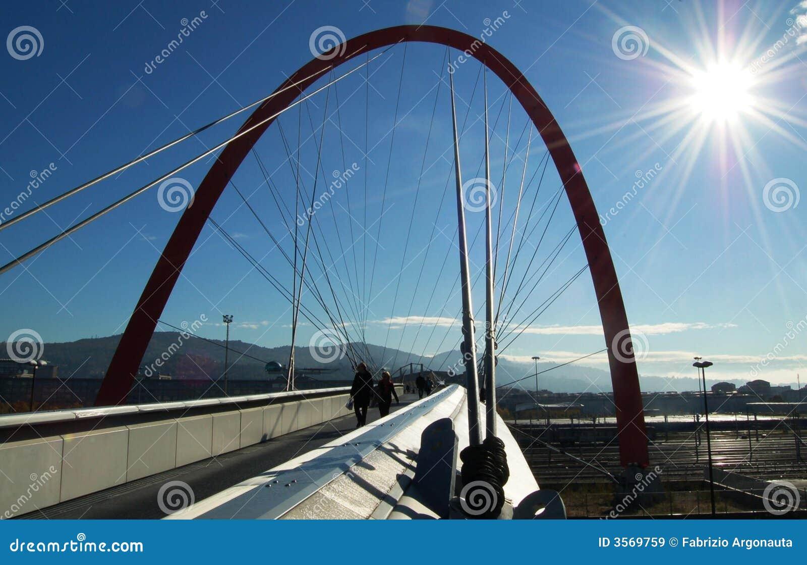 Ponticello olimpico, Torino, Italia
