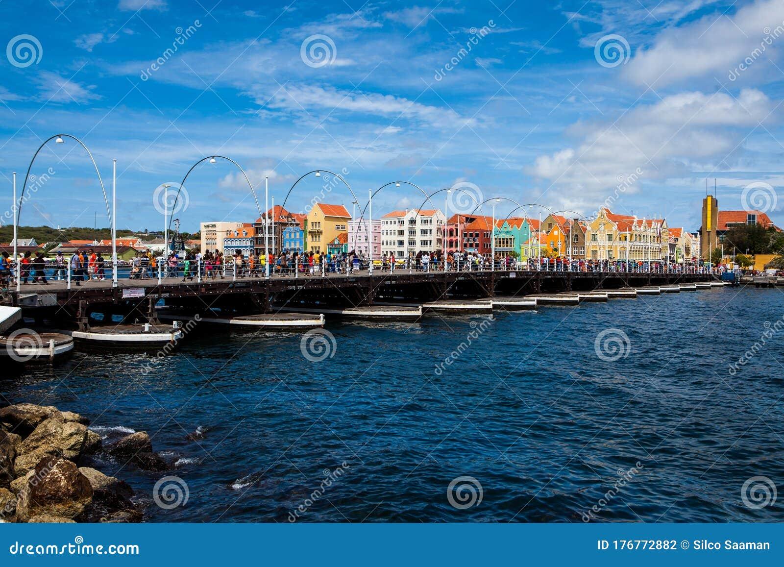 Pontjesbrug Willemstad editorial photography. Image of ...