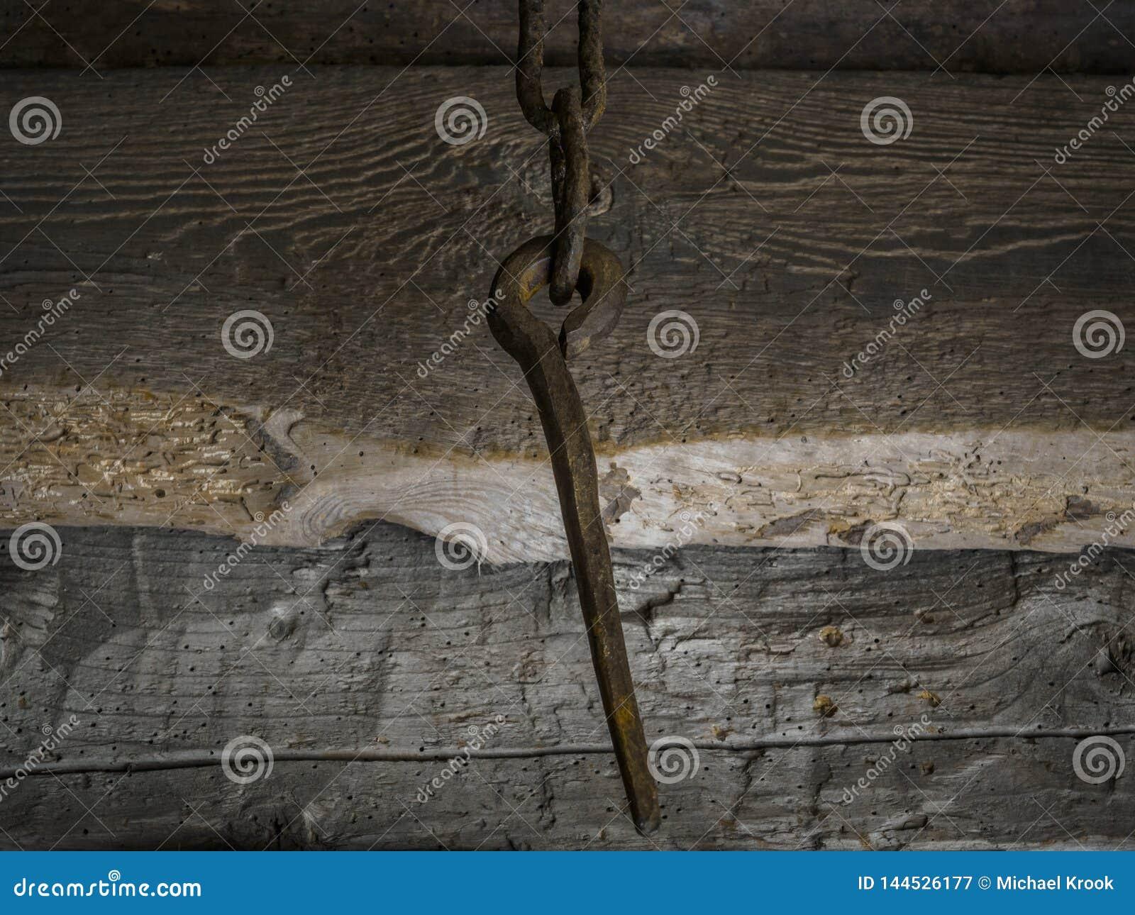 Ponto oxidado em uma corrente
