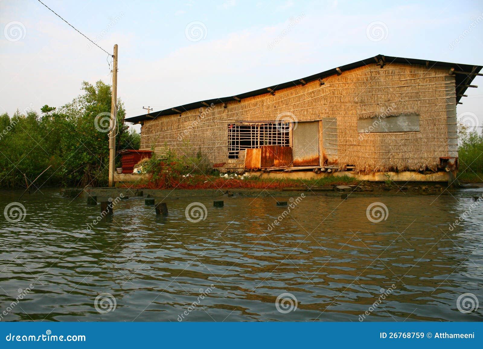 Pontone ecologico della casa nella palude di bangkok for Aiuto nella progettazione della casa