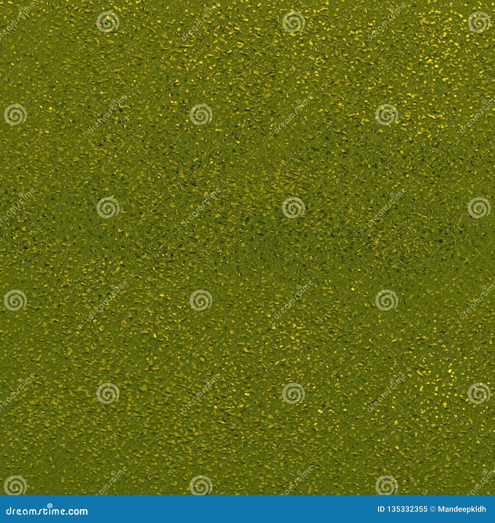 Pontos abstratos da cor no fundo verde Superfície áspera textured da areia Bom para olhares sujos, fundo, texturas, arte finala