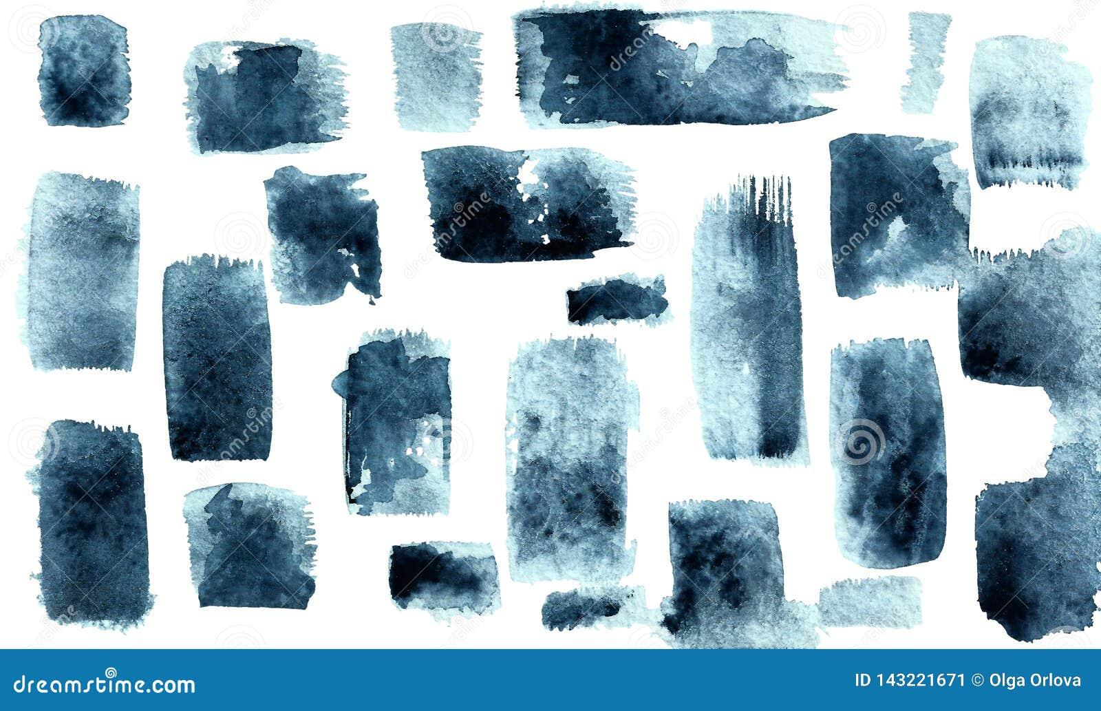 Pontos azuis cinzentos com uma escova Cursos verticais e horizontais