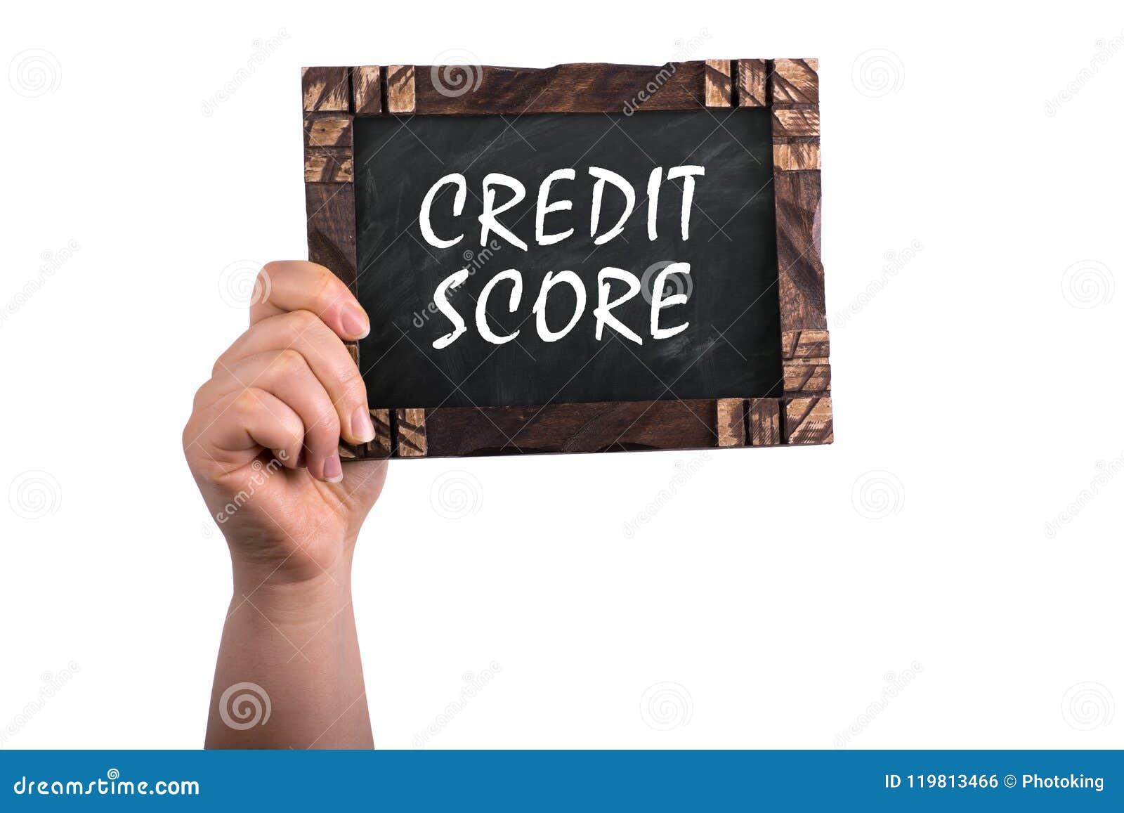Pontuação de crédito no quadro
