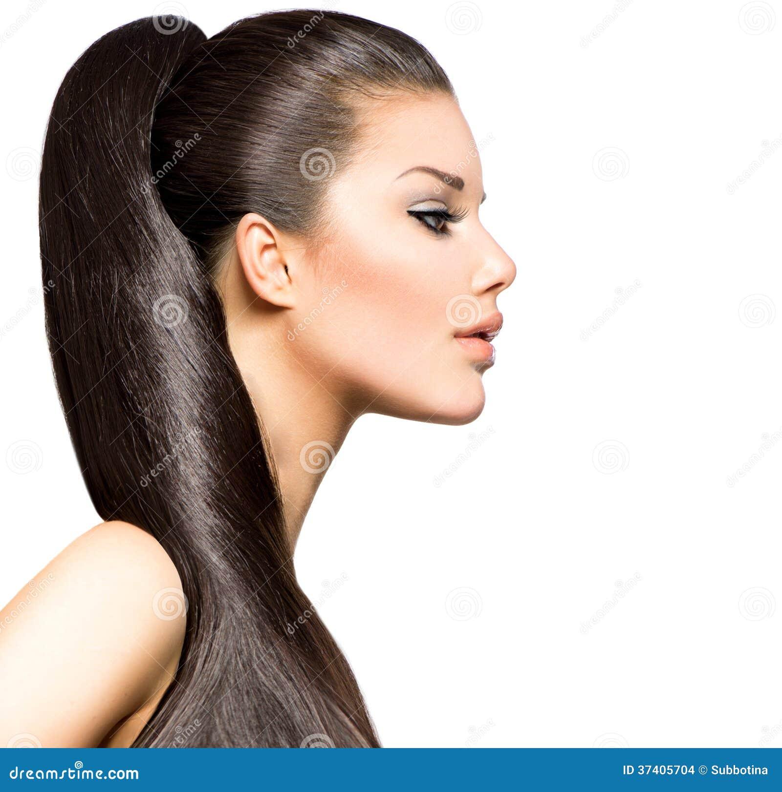 Fantastic Ponytail Hairstyle Stock Images Image 37405704 Short Hairstyles For Black Women Fulllsitofus