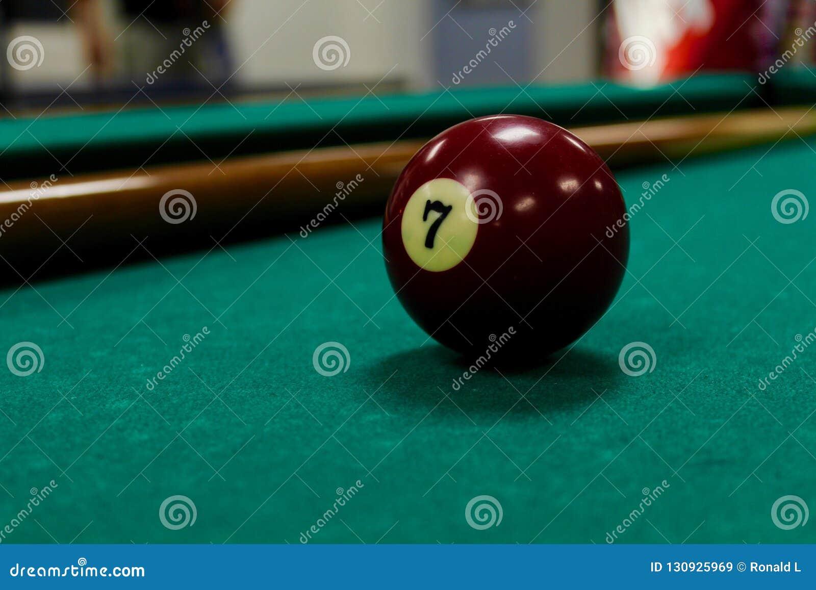 Pool ball 7