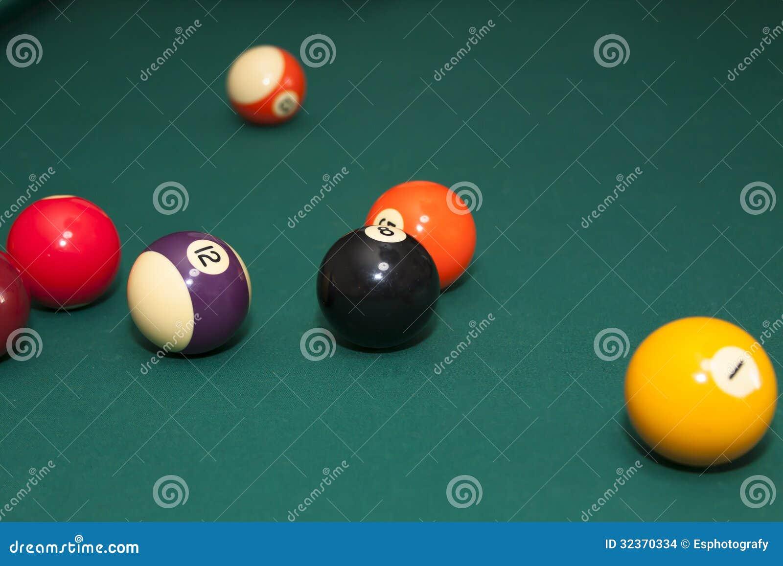 play pool balls