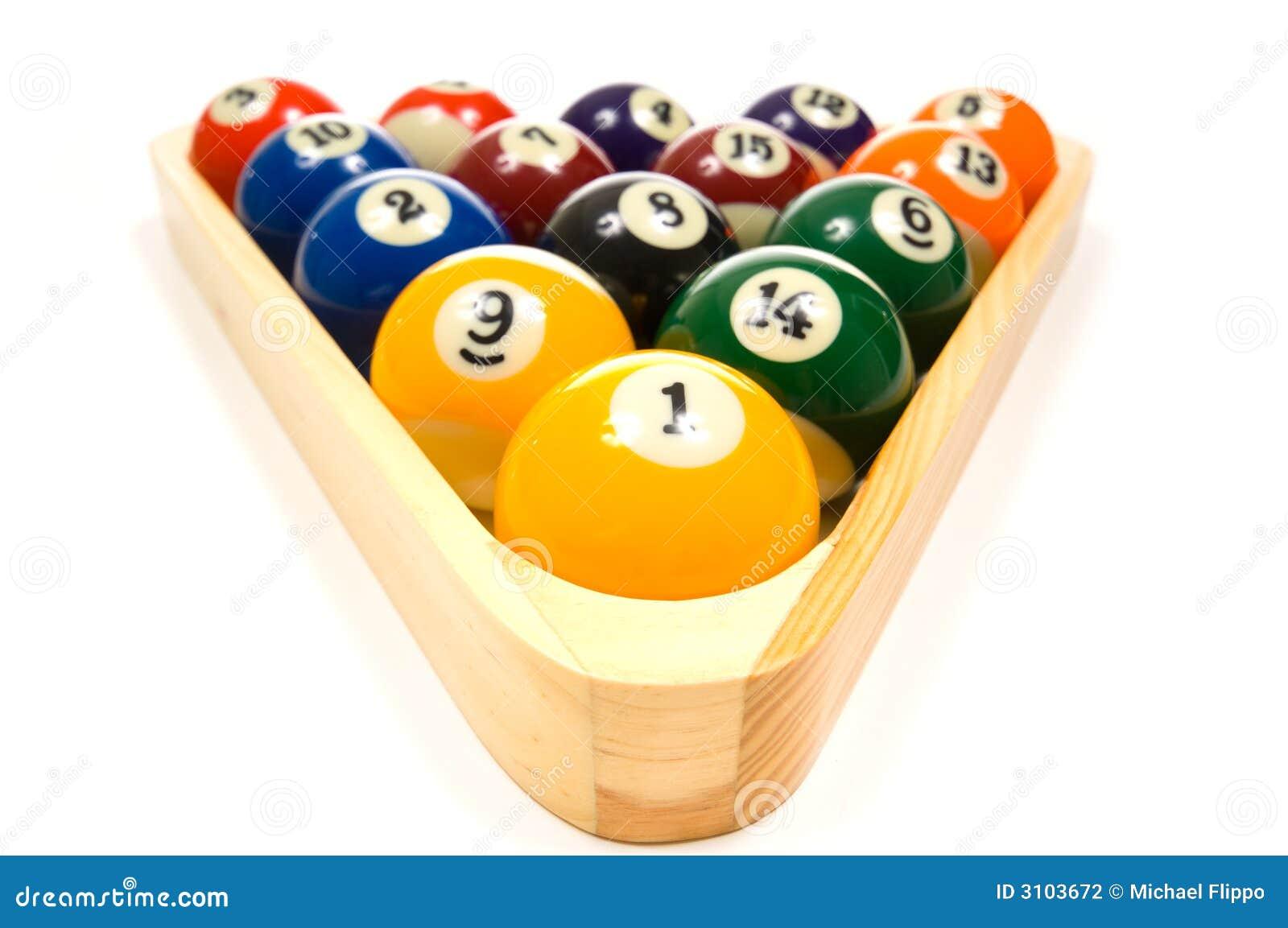 How to Clean Billiard Balls