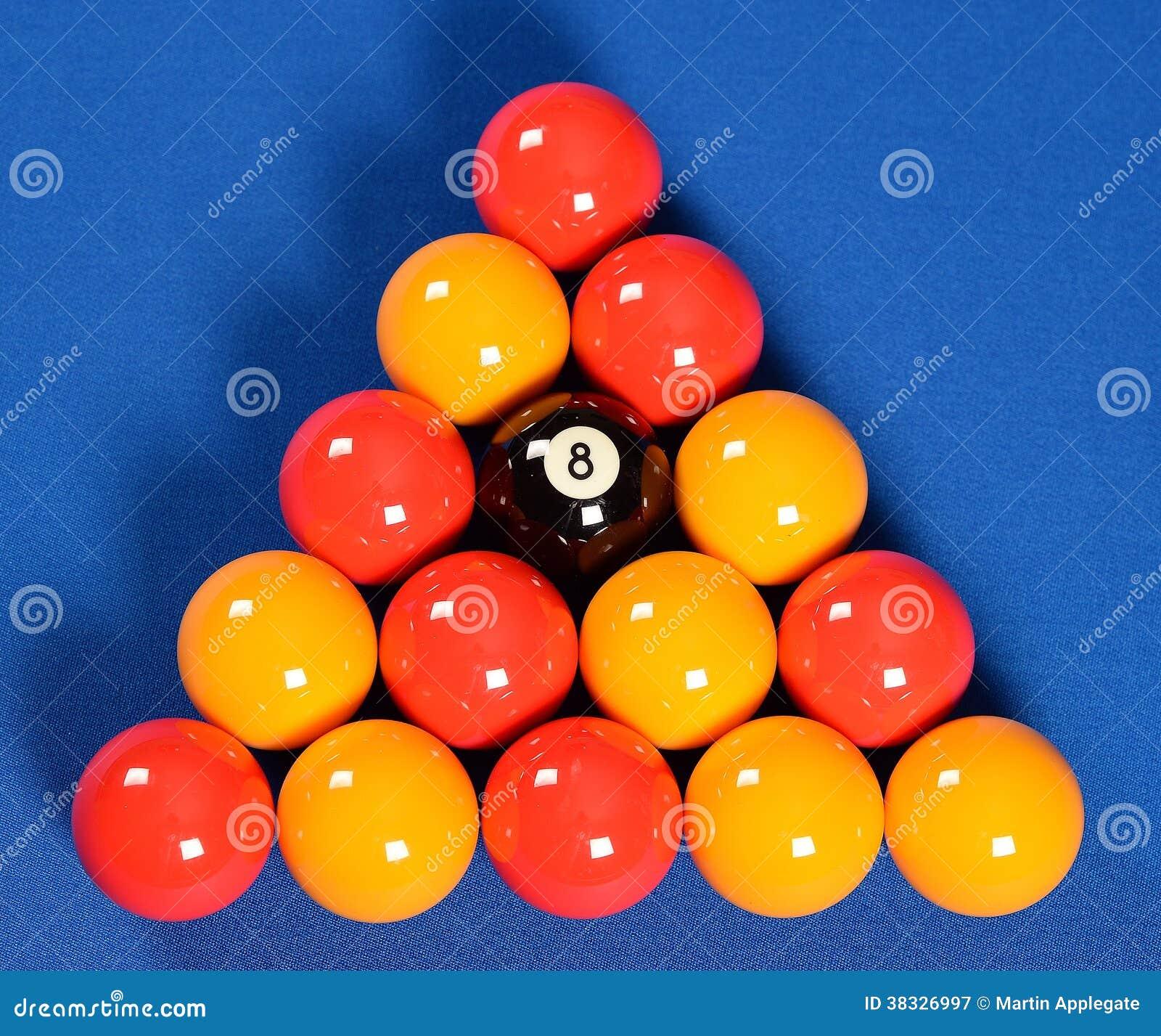 Pool Balls Royalty Free Stock Photography - Image: 38326997