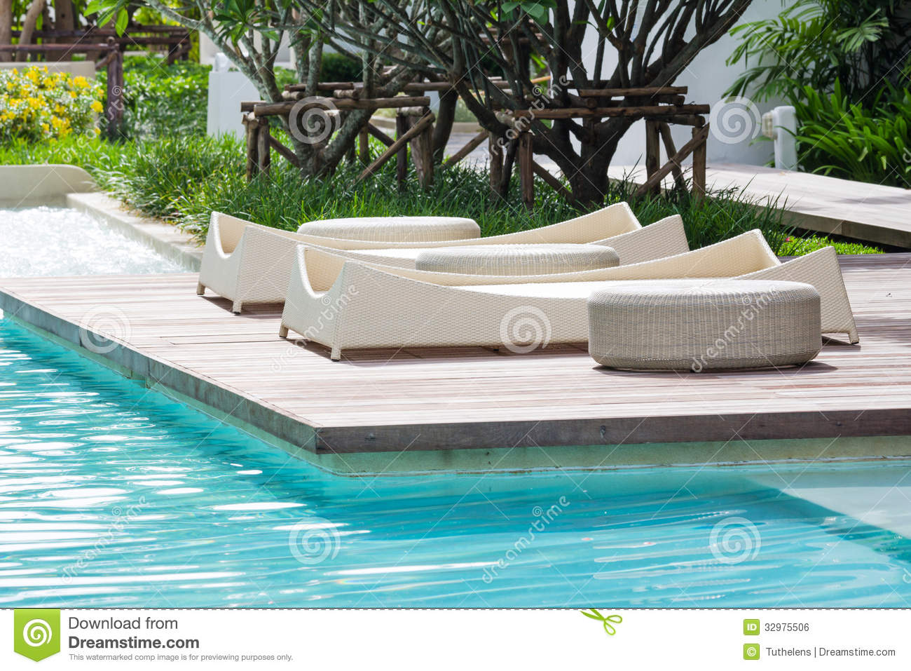 Pool bed royalty free stock image image 32975506 for Swimming pool bed