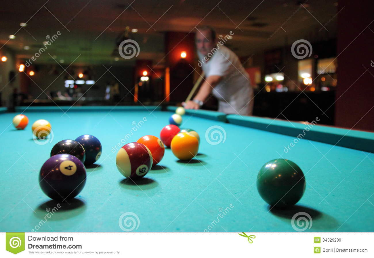 Pool Stock Image Image Of Success Gambing Game Green 34329289