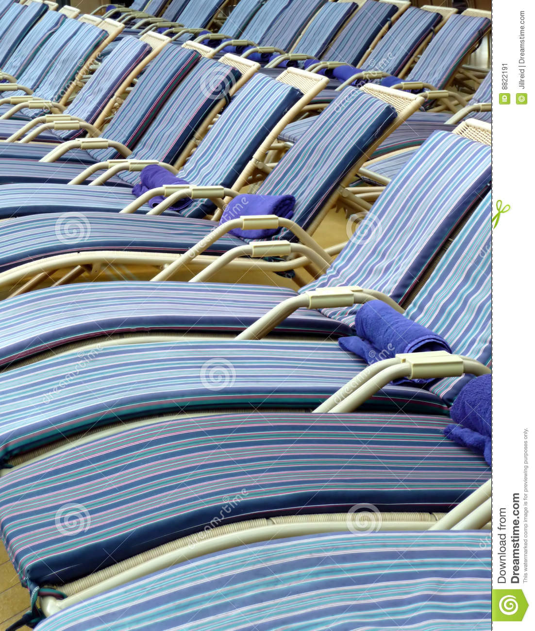 Pool Deck Chairs On A Cruise Ship Stock Image Image Of Boat Enjoy