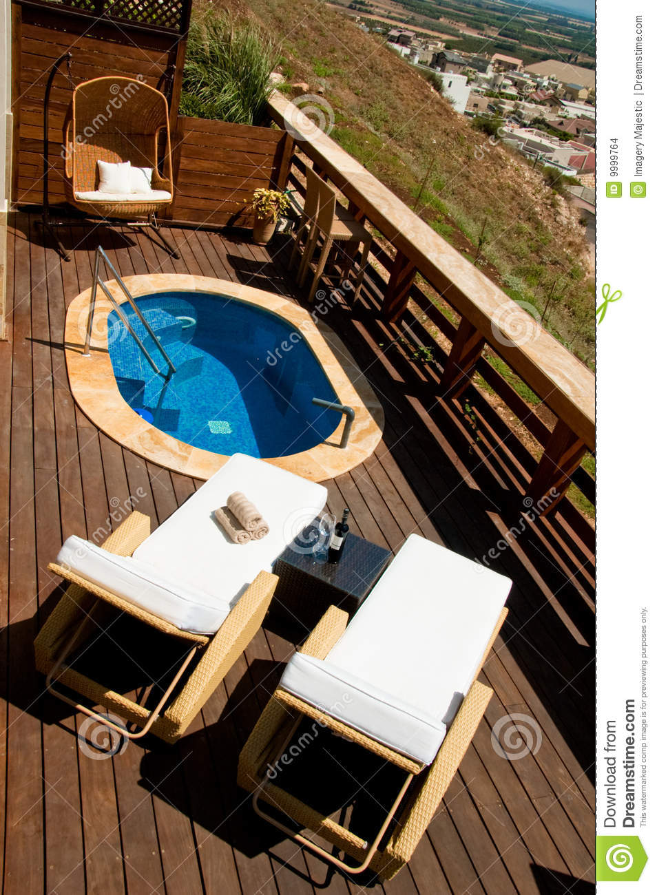 pool deck with lounge chairs stock images image 9999764. Black Bedroom Furniture Sets. Home Design Ideas