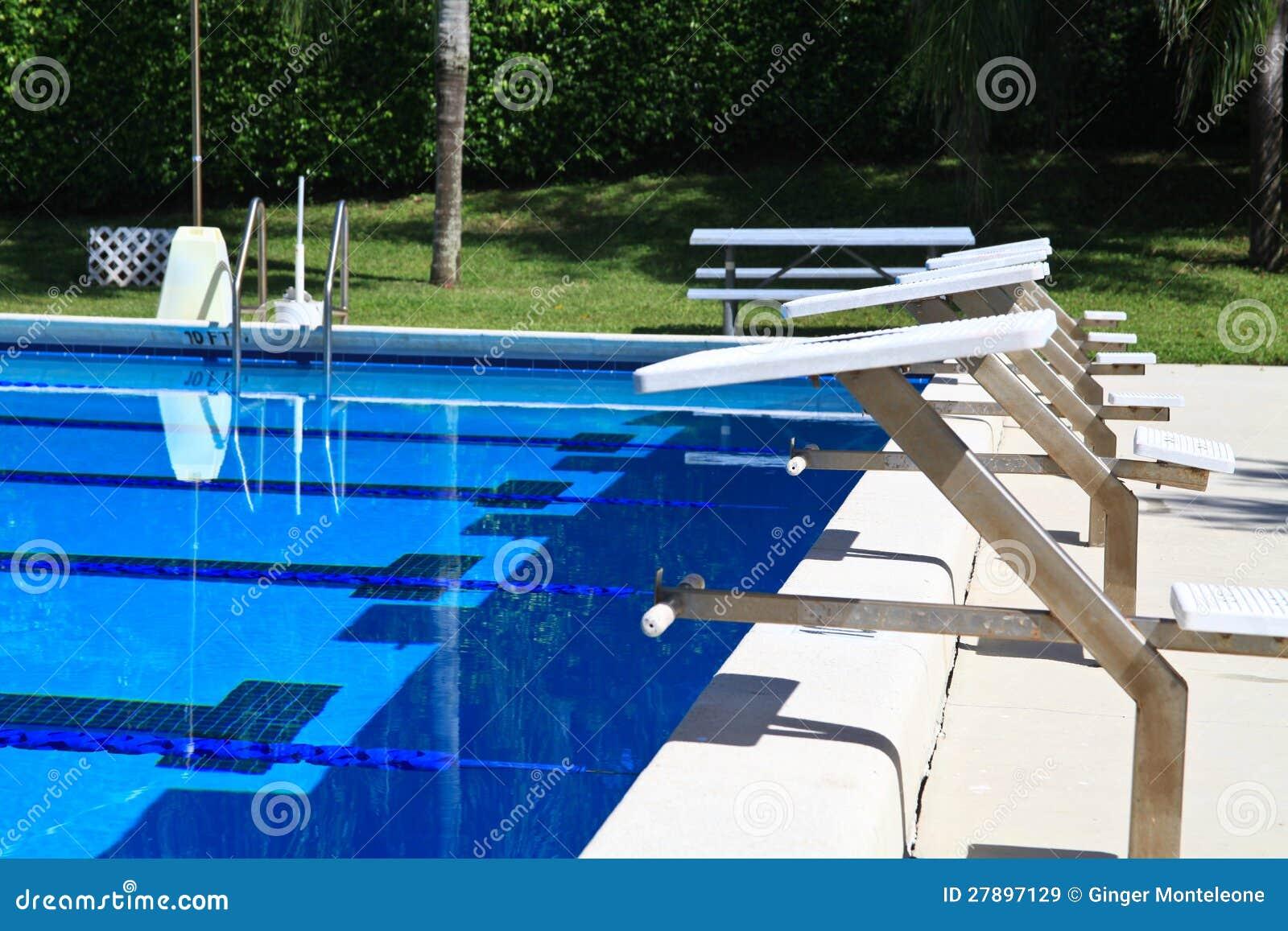 Pool Diving Platforms Royalty Free Stock Images Image 27897129