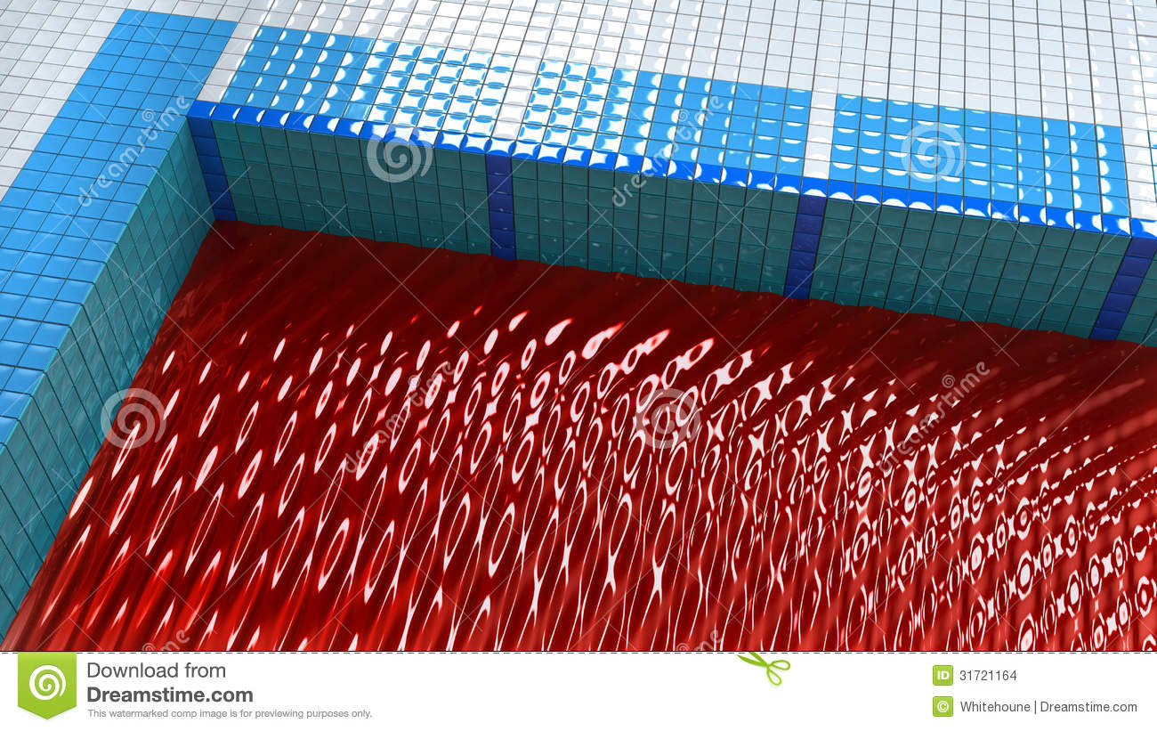 Pool Full Of Blood Stock Images Image 31721164