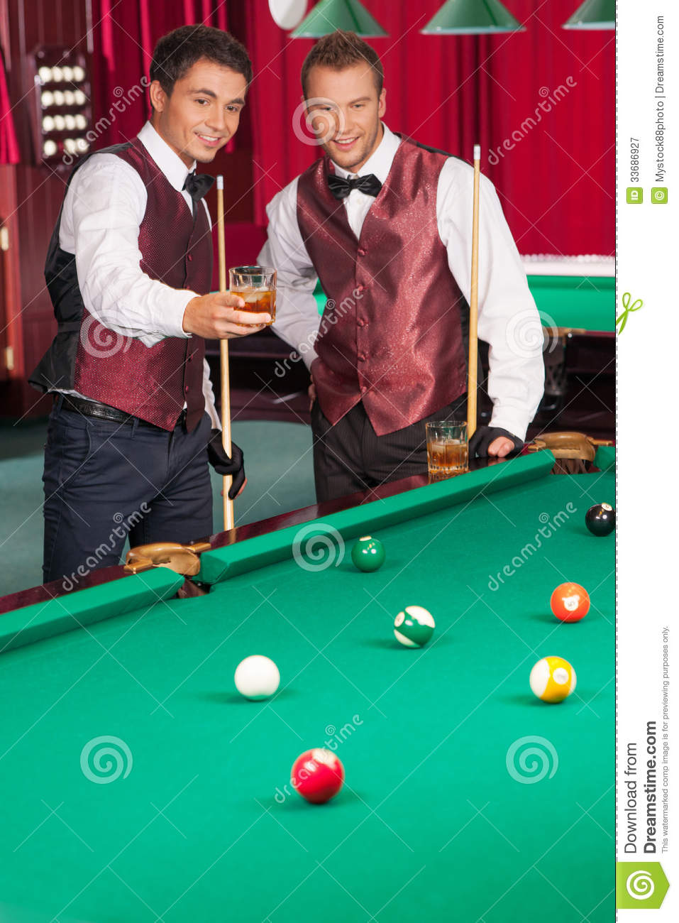 Pool Game Royalty Free Stock Photography Image 33686927