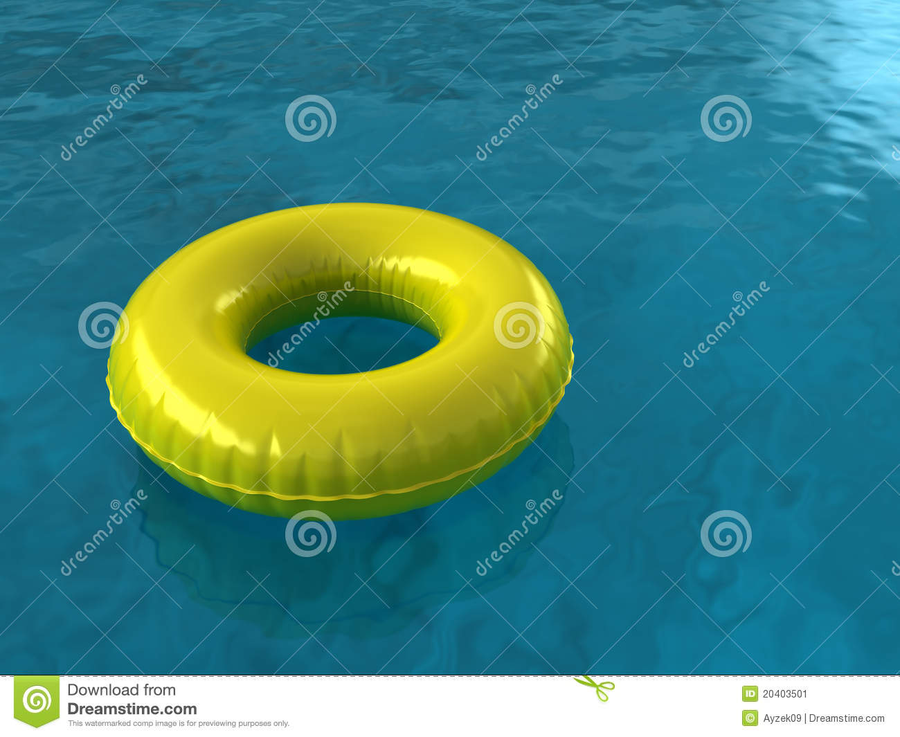 Pool Innertube Stock Illustration Illustration Of