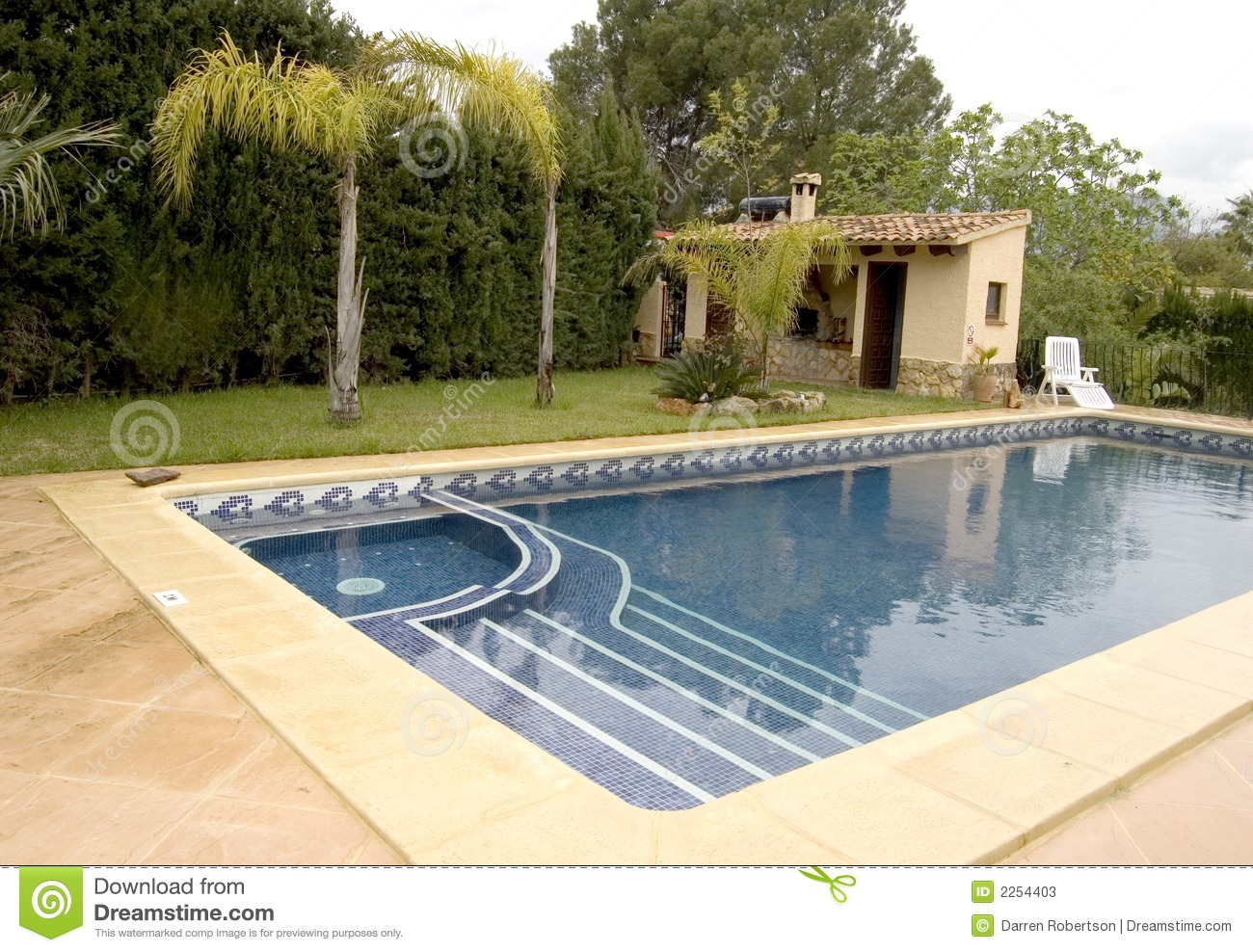 Pool with jacuzzi stock photos image 2254403 for Swimming pool with jacuzzi design