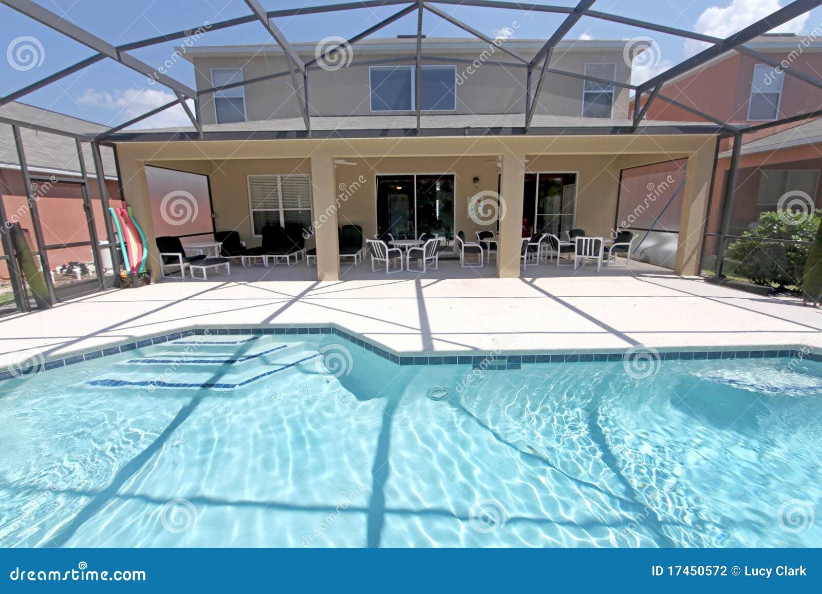 Pool And Lanai Stock Photography Image 17450572