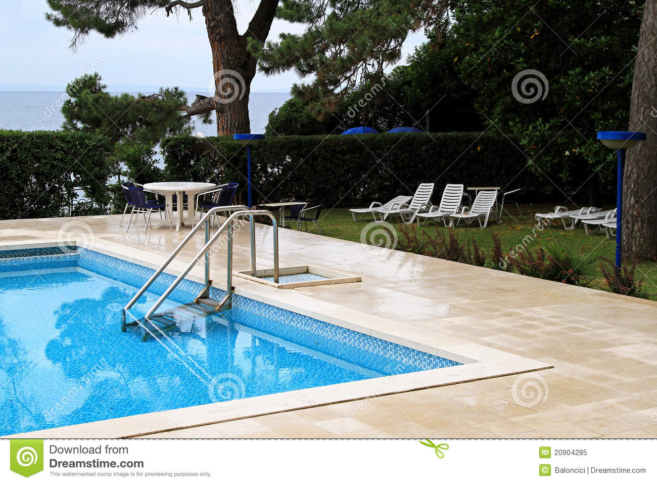 Pool Outdoor Royalty Free Stock Photo Image 20904285