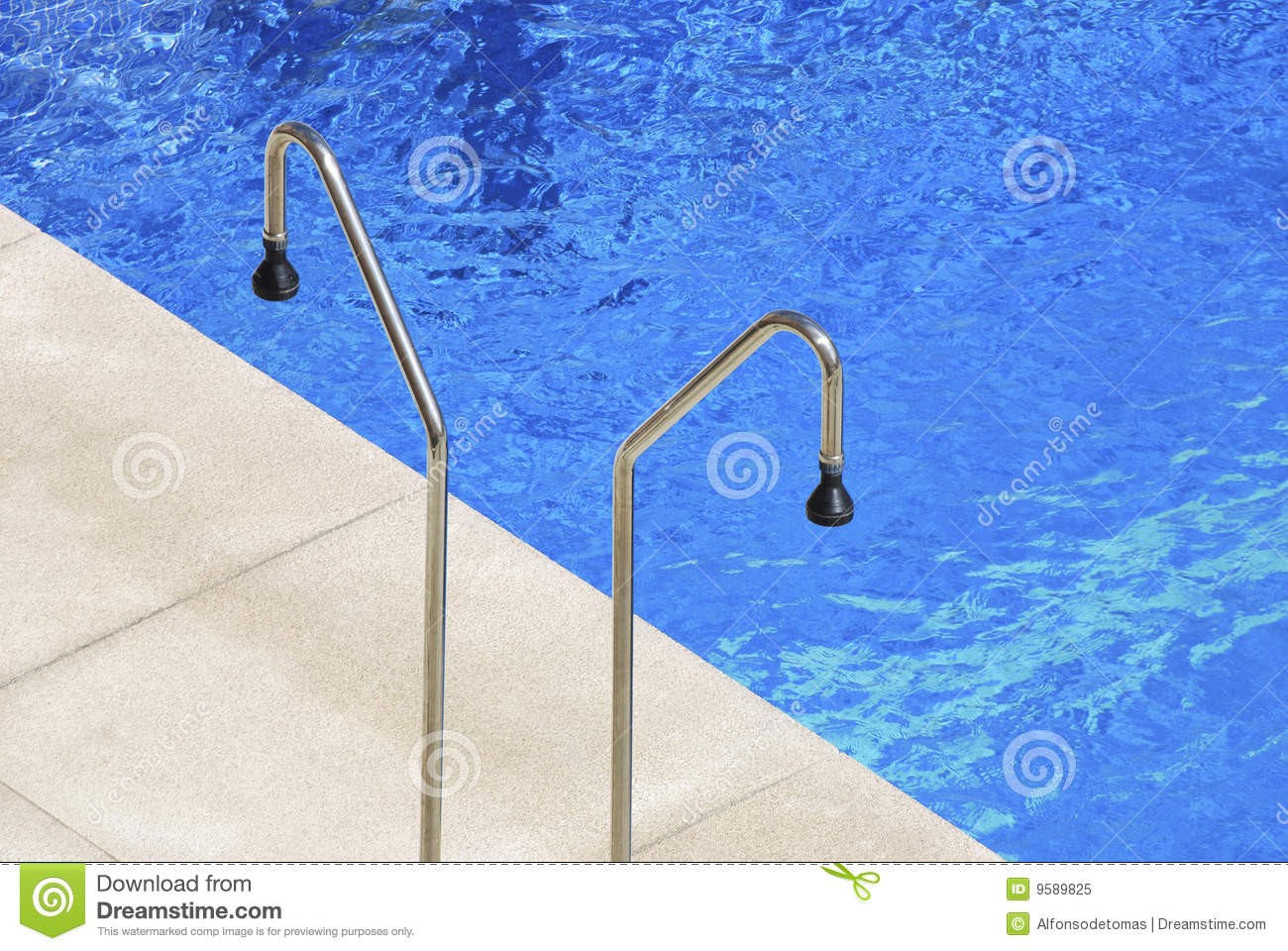 Pool Showers stock image. Image of hygiene, drops, pour ...