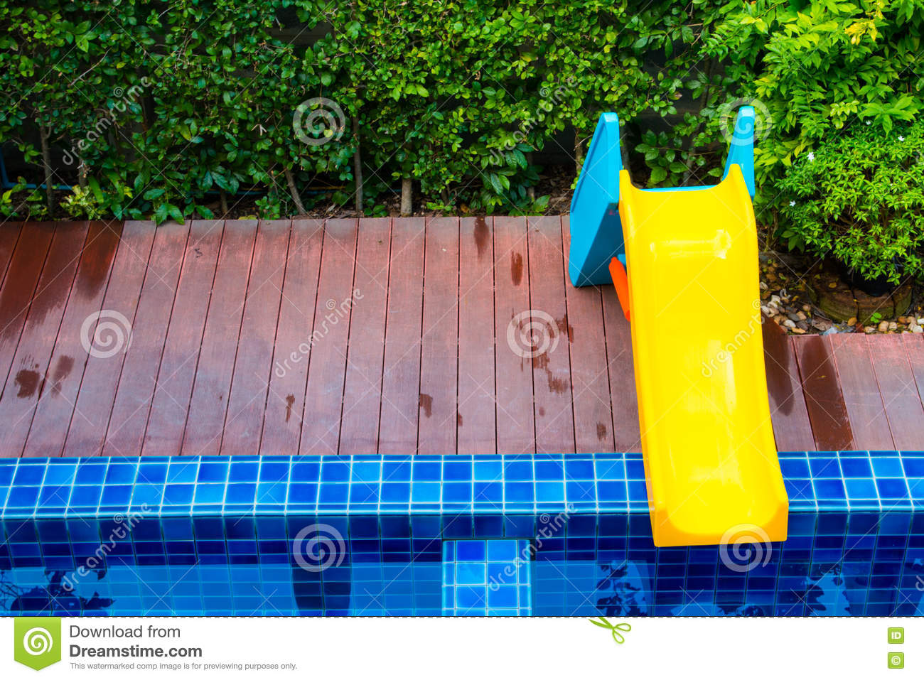 Water Slide Tube At Public Swimming Pool Royalty Free Stock Photo 33431337