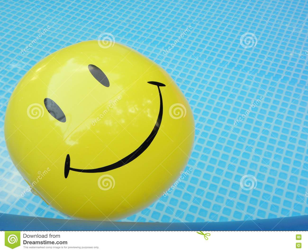 pool smiley face ball stock photo  image of water  heat