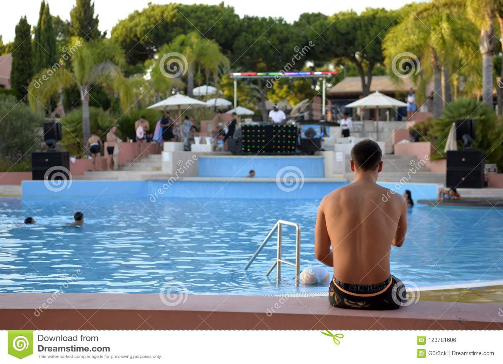 Pool Summer Party, Music DJ, Summer Holidays, Travel