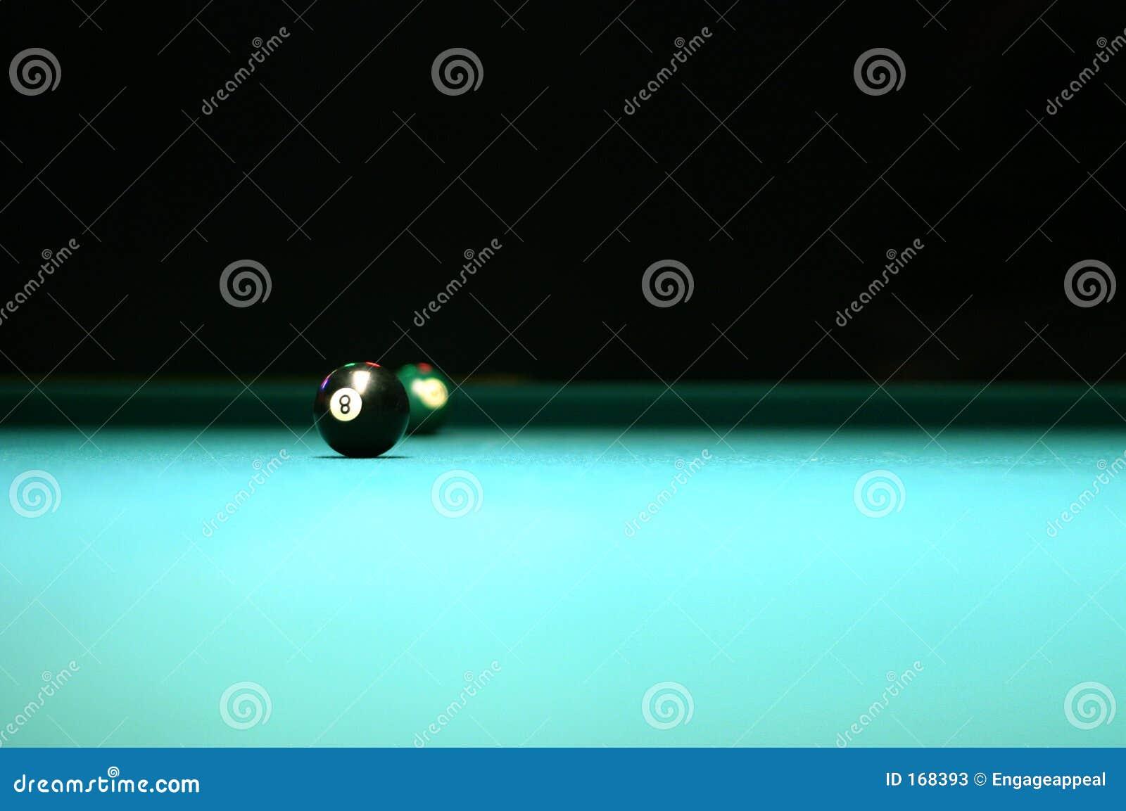 Pool Table 8 Ball