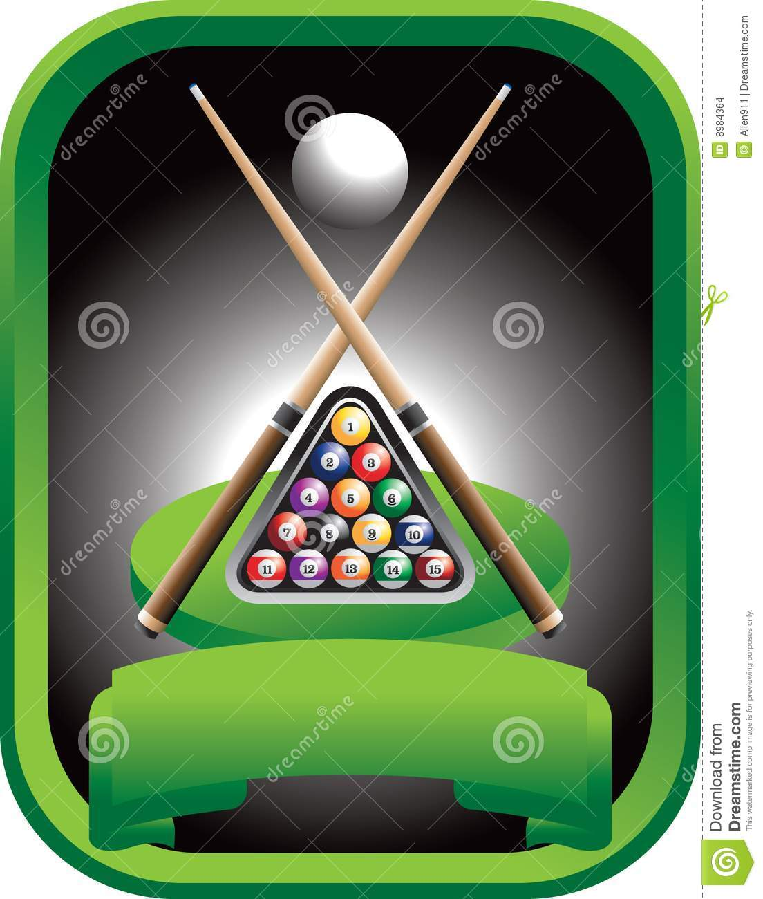 Pool Tournament Stock Images - Image: 8984364