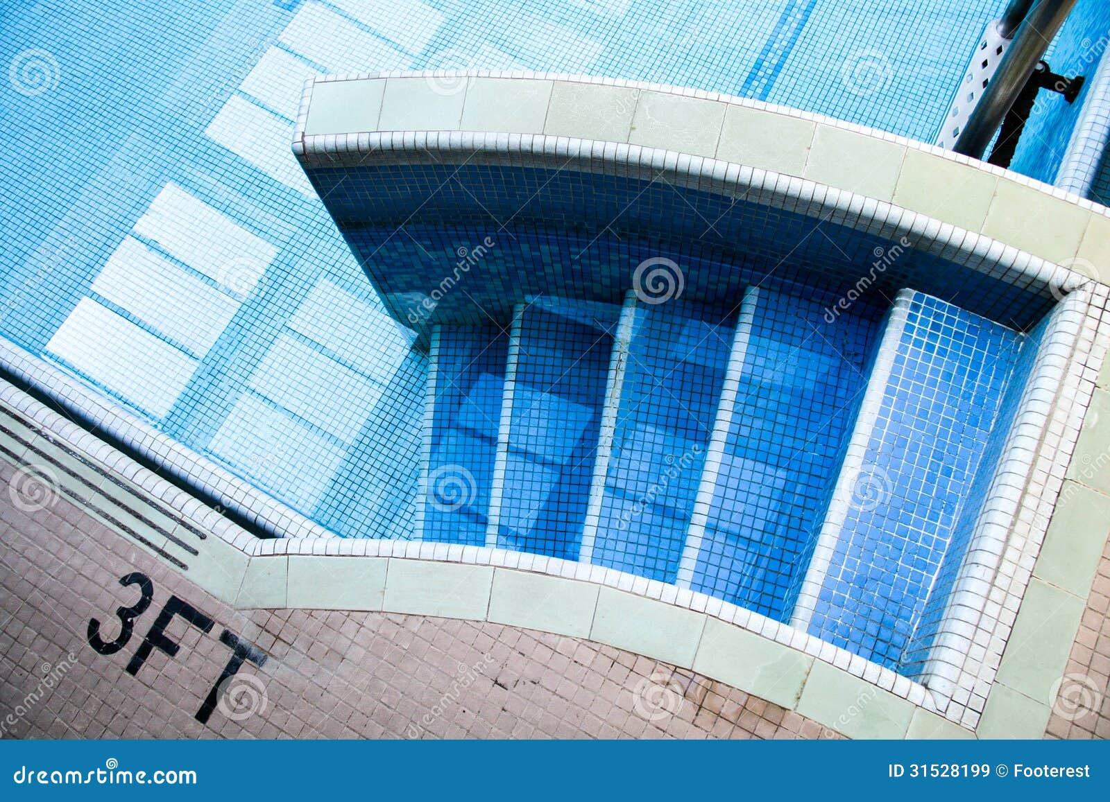 pool treppe lizenzfreie stockbilder bild 31528199. Black Bedroom Furniture Sets. Home Design Ideas